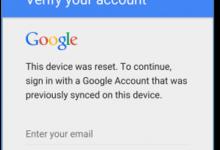bypassare blocco FRP Samsung (superare blocco verifica account google)